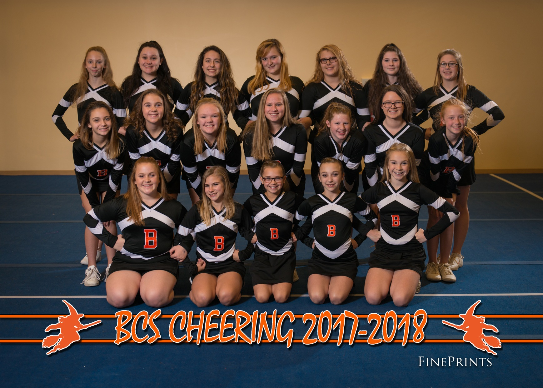 BCS Cheerleading 2017-2018