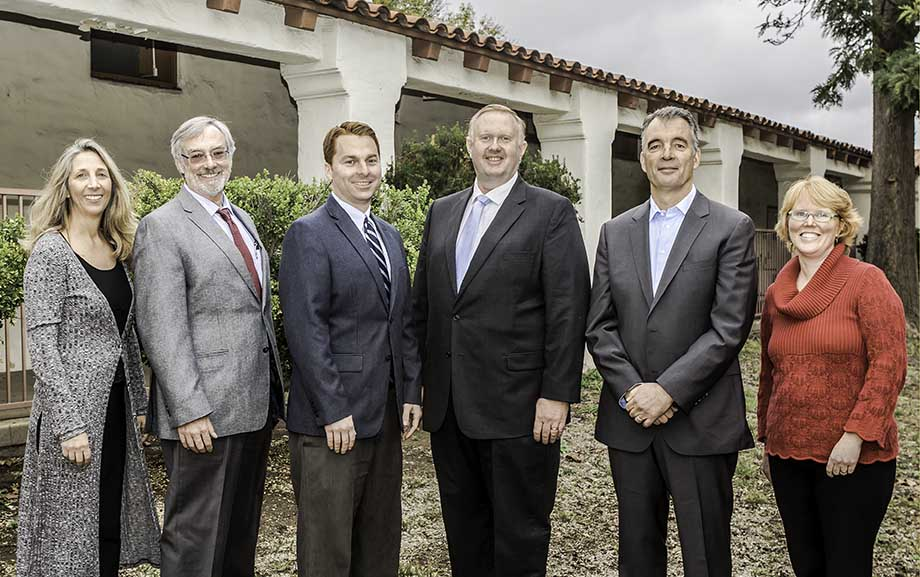 The Ojai Unified School District Board Members and Superintendent