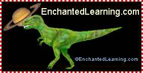 Enchanted Learning dinosaur logo