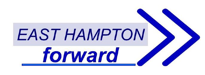 Image: East Hampton Forward arrow