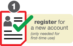 Click here to register for a new account!