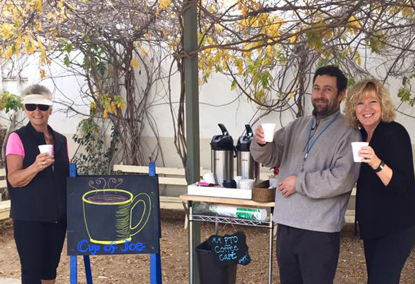 PTO Coffee Cart Event