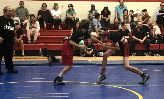 Matilija Students wrestling