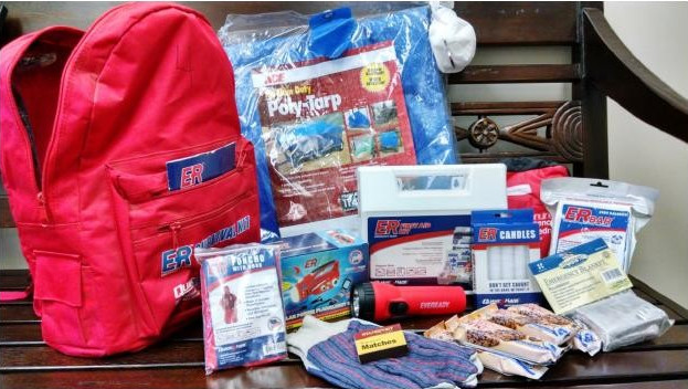 Matilija's PTO funded emergency supply packs
