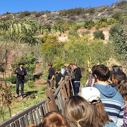 Nordhoff's environmental studies students learn in the field