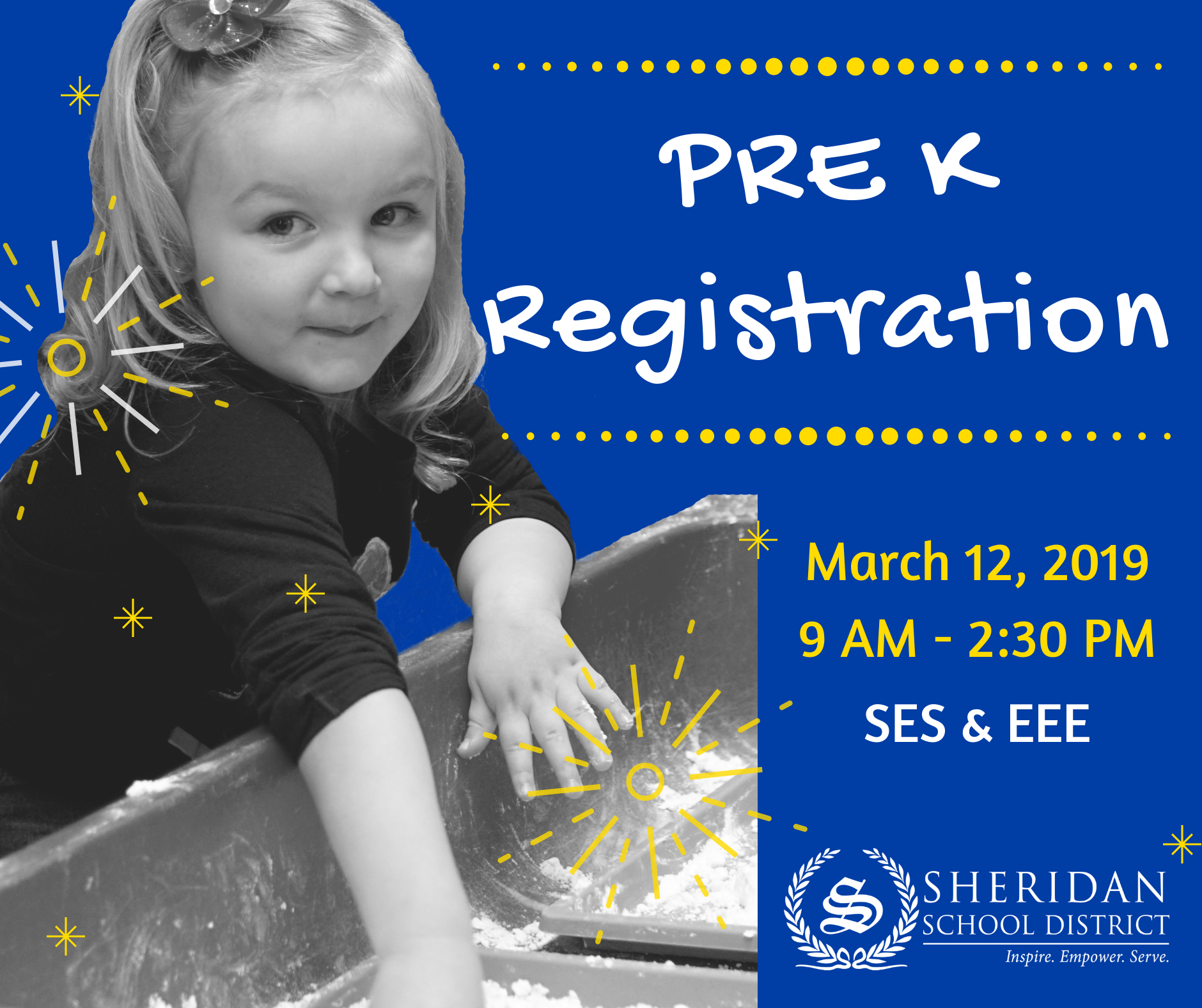 Picture of girl in Preschool with Registration Date: March 12