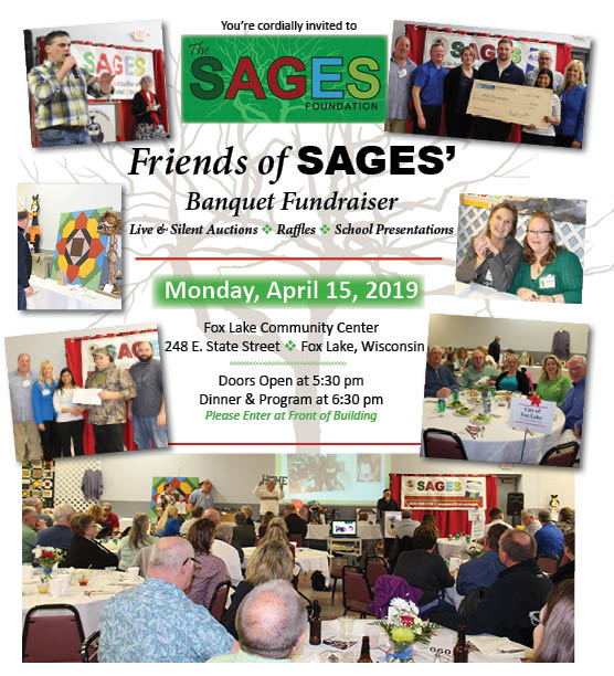 Friends of SAGES Banquet Fundraiser