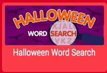 click here to go to halloween word search