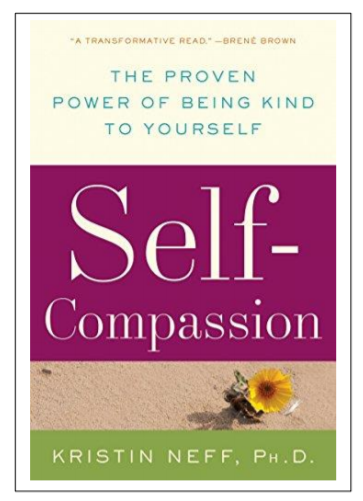 Image: Book cover Self Compassion by Kristin Neff