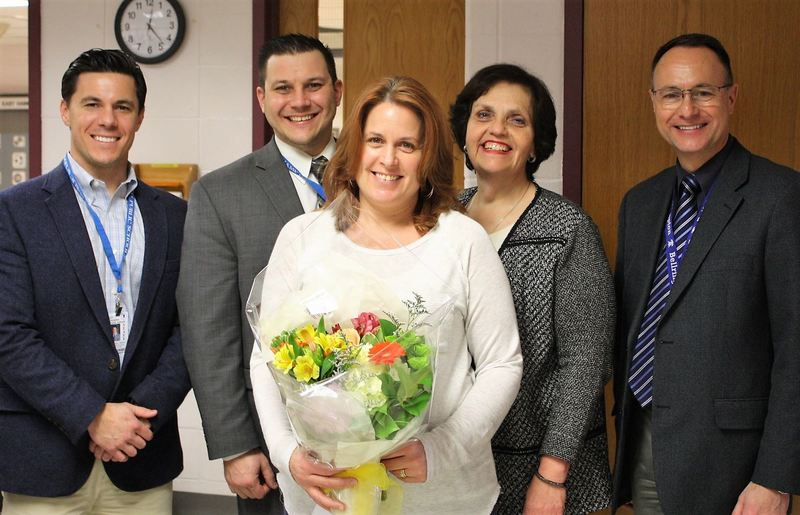 Tammy Angeli with Administrators